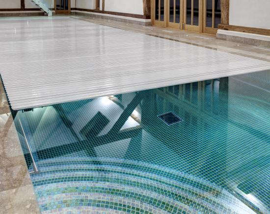Tile interior pool